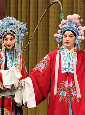 diao chan dan lu bu dalam sebuah opera cina klasik